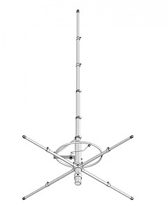 Workman T601 Discone Scanner Antenna w// VHF Ham Radio Transmit Jetstream JTD1